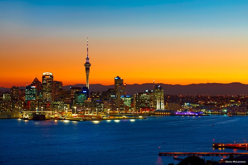 Auckland Nightscape © Chris McLennan