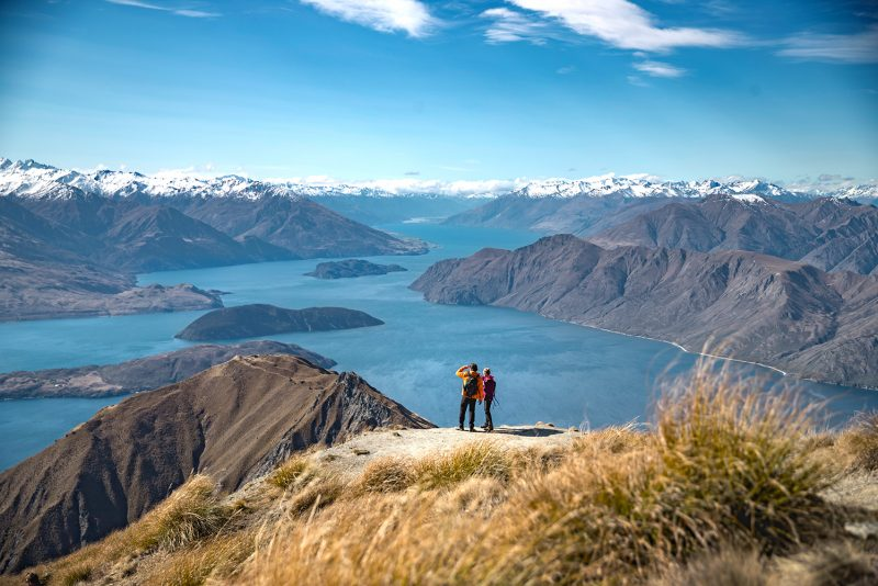 Overlooking Lake Wanaka, New Zealand © Miles Holden