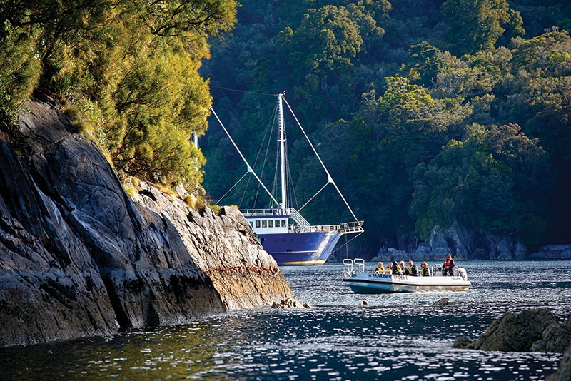 A special, overnight experience in Fiordland © Real Journeys