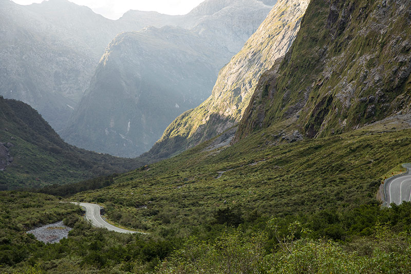 New Zealand scenery constantly commands your attention, yet so do the roads. ©Graeme Murray