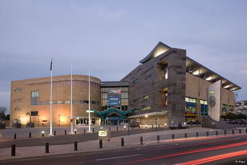 Te Papa Museum is a must-visit in Wellington, so their fast, free Wi-Fi is a bonus. © Te Papa