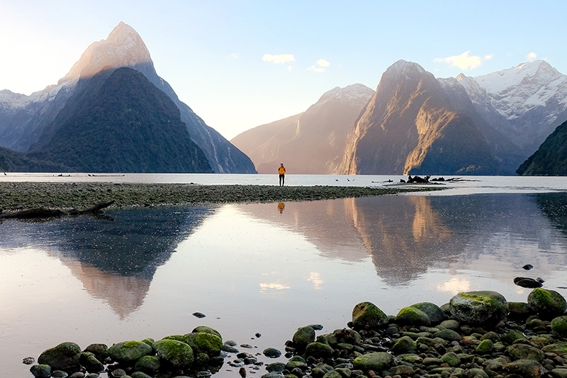 An overnight trip on a Black Sheep Touring Co. guided tour or self drive tour is the best way to see Milford Sound