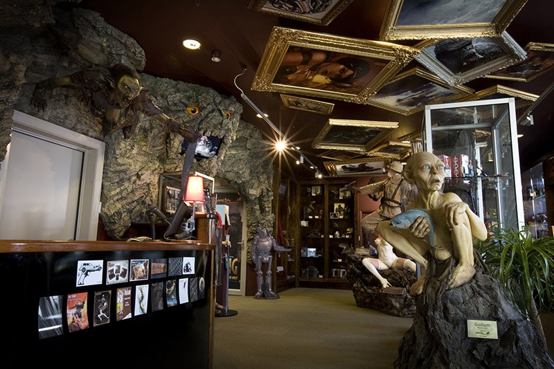 Weta Cave at Weta Workshop Wellington